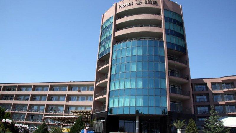 Фасадата на хотела