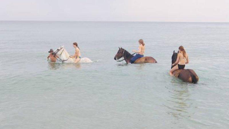 Езда на коне