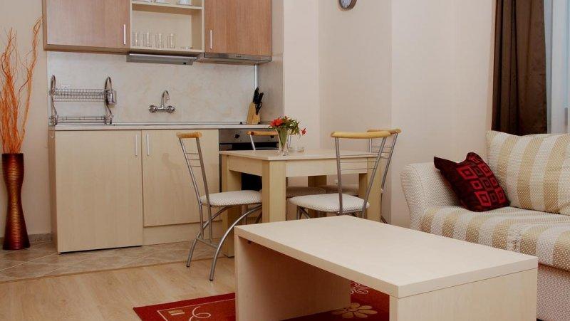 Кухня в апартамент