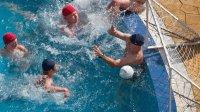водна топка на басейна