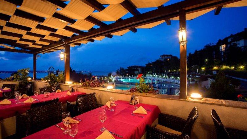 Терасата на ресторанта