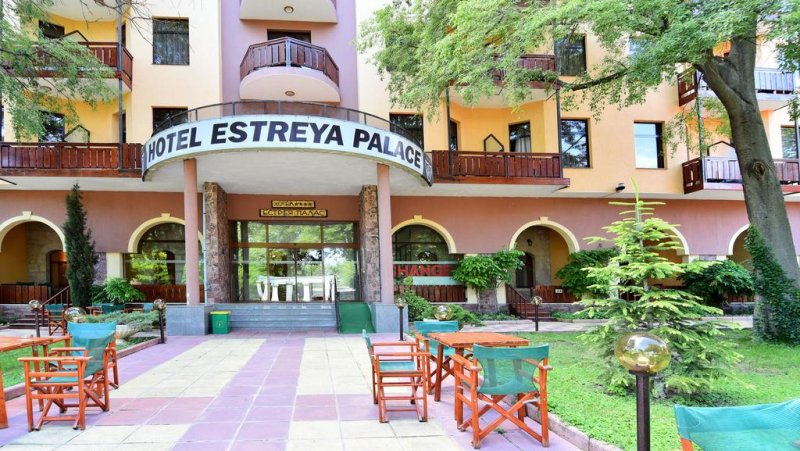Входа на хотела